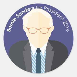 Bernie Sanders 2016 for president custom sticker