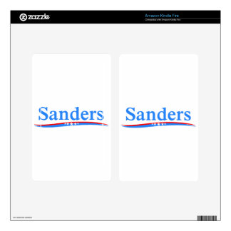 BERNIE SANDERS 2016 FOR PRESIDENT OF THE USA KINDLE FIRE DECALS