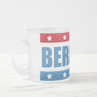 Bernie Sanders 2016 Frosted Glass Coffee Mug