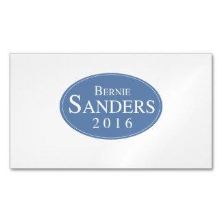 Bernie Sanders 2016 Oval Logo Magnetic Business Cards (Pack Of 25)