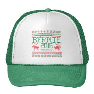 Bernie Sanders 2016 President Ugly Holiday Sweater Trucker Hat