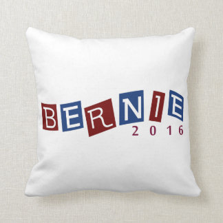 Bernie Sanders 2016 Presidential Election Throw Pillow