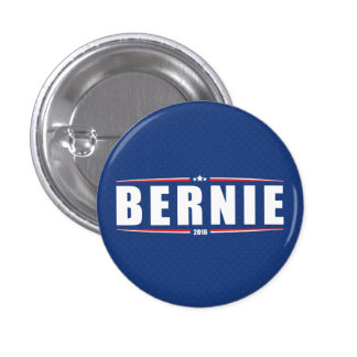 Bernie Sanders 2016 (Stars & Stripes - Blue) Button