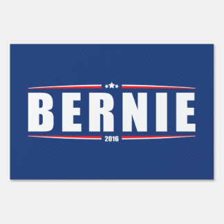 Bernie Sanders 2016 (Stars & Stripes - Blue) Sign