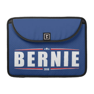 Bernie Sanders 2016 (Stars & Stripes - Blue) Sleeve For MacBook Pro