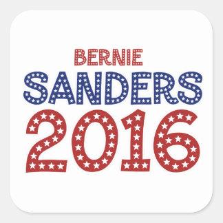 Bernie Sanders 2016 Square Sticker