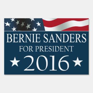 Bernie Sanders 2016 USA FLAG Yard Sign