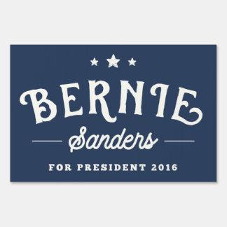 Bernie Sanders 2016 Vintage Logo Lawn Sign