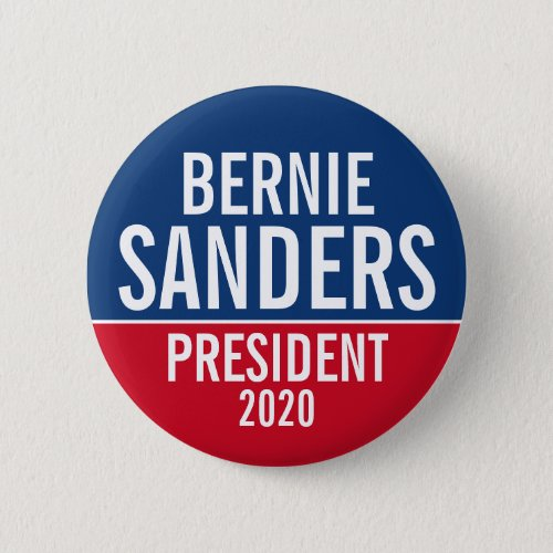 Bernie Sanders 2020 Campaign _ can edit namecolor Button