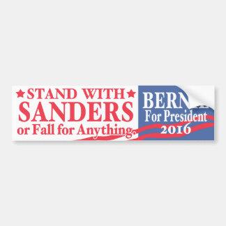 Bernie Sanders 4 President 2016 Car Bumper Sticker