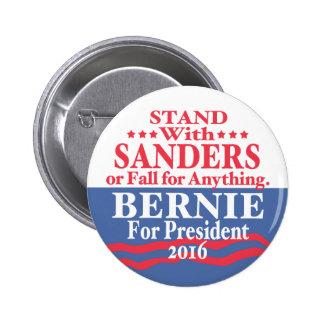 Bernie Sanders 4 President 2016 Pinback Button