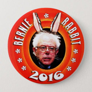 Bernie Sanders: Bernie Rabbit 2016 Pinback Button