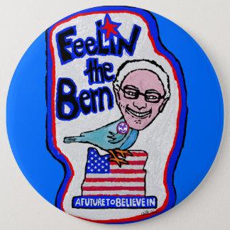 "Bernie Sanders ""Birdie for President"" Pinback Button"