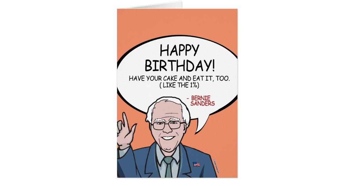 Happy Birthday Bernie Cake