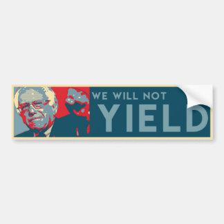 Bernie Sanders Bumper Sticker Variation 1