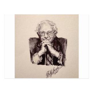 Bernie Sanders by Billy Jackson Postcard