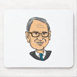 Bernie Sanders Caricature Mouse Pad