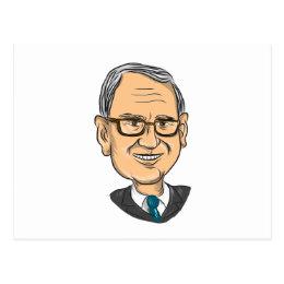 Bernie Sanders Caricature Postcard