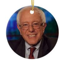 Bernie Sanders Ceramic Ornament