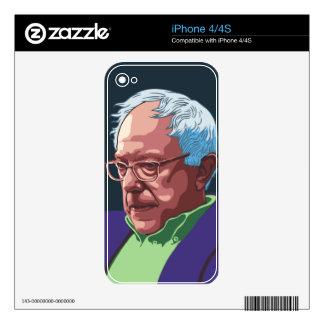 Bernie Sanders -col iPhone 4S Decal
