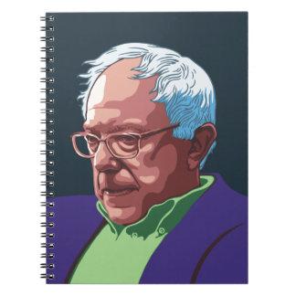 Bernie Sanders -col Spiral Notebook