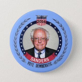 Bernie Sanders Democrat for President Pinback Button