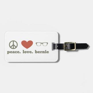 Bernie Sanders Election Swag Bag Tag
