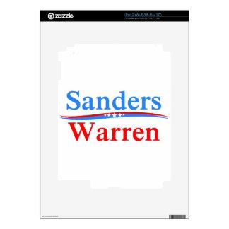 BERNIE SANDERS - ELIZABETH WARREN 2016 PRESIDENT SKINS FOR iPad 2