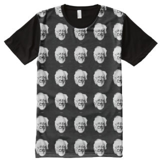Bernie Sanders Face All-Over Print T-shirt