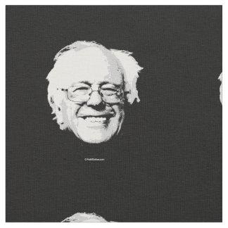 Bernie Sanders Face Fabric