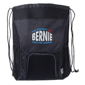 Bernie Sanders For America Drawstring Backpack
