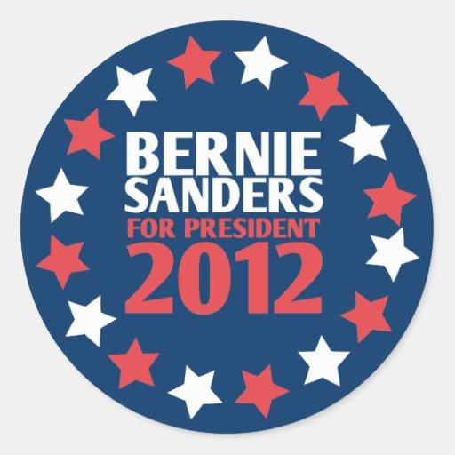 Bernie Sanders for President 2012 Sticker