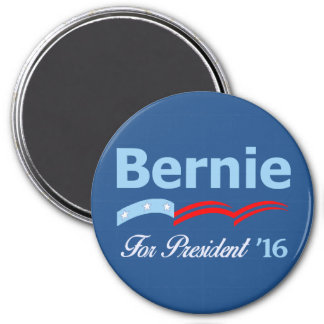 Bernie Sanders For President 2016 3 Inch Round Magnet