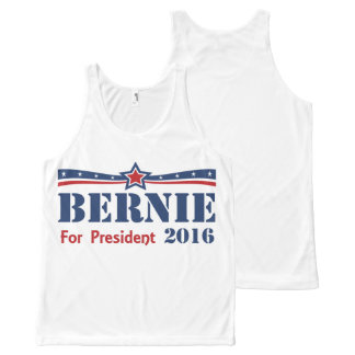 Bernie Sanders For President 2016 All-Over Print Tank Top