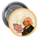 Bernie Sanders for president 2016 3 Inch Round Button