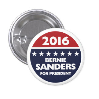Bernie Sanders for president 2016 Button