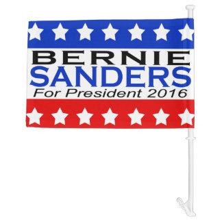 Bernie Sanders for President 2016 Campaign Car Flag