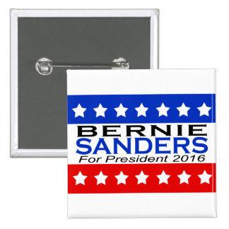 Bernie Sanders for President 2016 Campaign Pinback Button