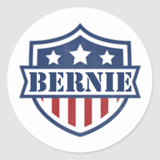 Bernie Sanders For President 2016 Classic Round Sticker