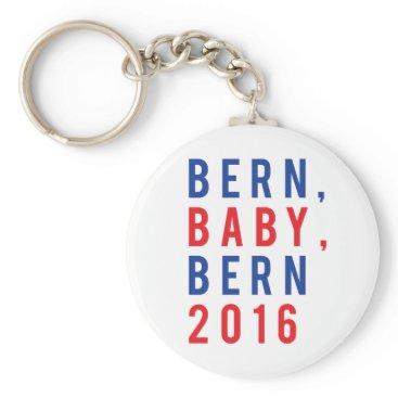 snazzify Bernie Sanders for President 2016 Election Keychain