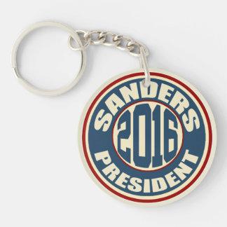 Bernie Sanders for President 2016 Double-Sided Round Acrylic Keychain