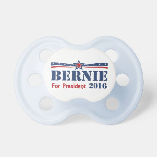 Bernie Sanders For President 2016 Pacifier