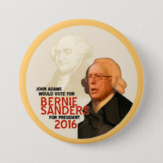 Bernie Sanders for president 2016 Pinback Button
