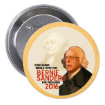 Bernie Sanders for president 2016 Pinback Buttons