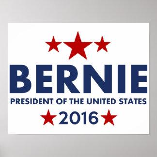 Bernie Sanders For President 2016 Poster