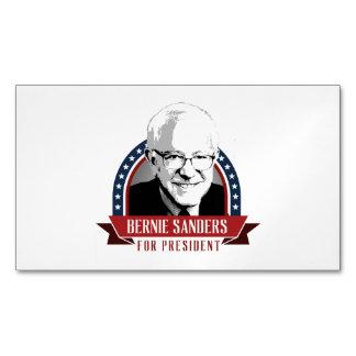 Bernie Sanders For President 2016 Spangled Banner Magnetic Business Cards (Pack Of 25)