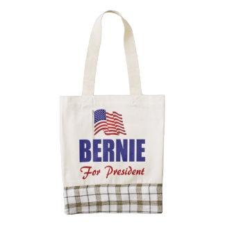 Bernie Sanders For President 2016 Zazzle HEART Tote Bag