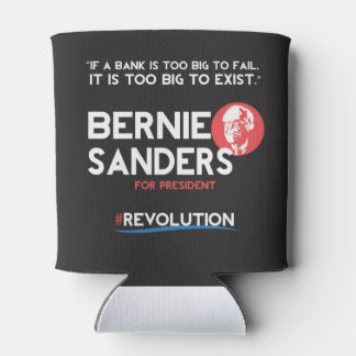 Bernie Sanders for President Can Cooler
