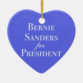 Bernie Sanders for President Ceramic Ornament