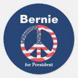 Bernie Sanders for President Classic Round Sticker